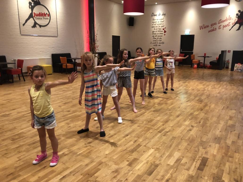Kinderfeestje met dans